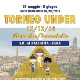TORNEO UNDER 10/12/14 SD LA RACCHETTA 2019