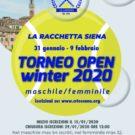 Torneo Open 2020 Siena